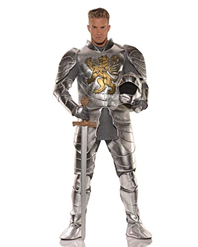Historisches Ritterrüstung Männerkostüm für Kostümfeste One (Edle Krieger Kostüm Für Erwachsene)