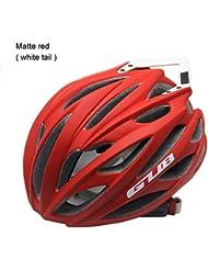 9320e19cca9c0 GUB Casco de Bicicleta con Orificios de ventilación de Cola 26 Espuma de  Alta Densidad Deportes