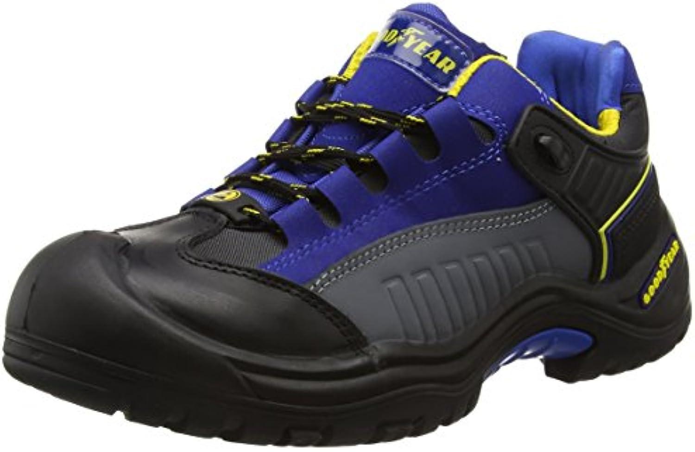 Goodyear Gyshu740 - Zapatos de seguridad, Unisex, color Negro, talla 44 EU