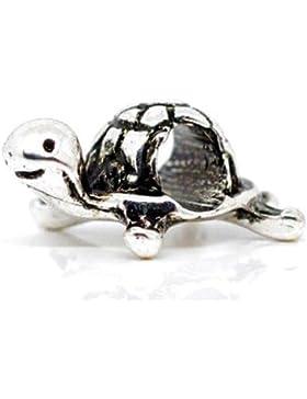 Charm Buddy Schildkröte Turtle Charm für Pandora Armbänder Mädchen Damen Kinder Schmuck