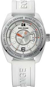 Hugo Boss Orange - 1512545 - Montre Homme - Quartz Analogique - Bracelet Plastique Blanc