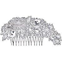 Encoco brides pettine matrimonio accessori per capelli con strass di  cristallo da sposa forcine per capelli b980812fd040