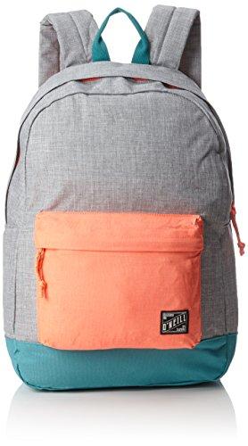 O'Neill - Bm Coastline Backpack, Mochilas Hombre, Grau (Silver Melee), 13x31x46 cm (B x H T)