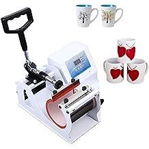 Ridgeyard 350W taza Máquina de transferencia de prensa de calor LCD Digitales en forma de taza