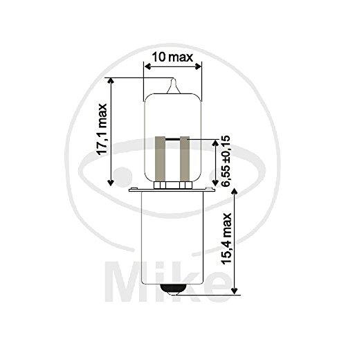 Preisvergleich Produktbild LAMPE HS3 6V2.4W JMP