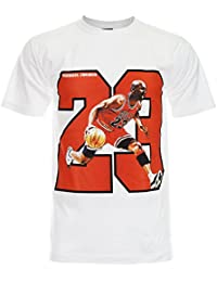 PALLAS Men's Jordan Number 23 Basketball Sport T-Shirt