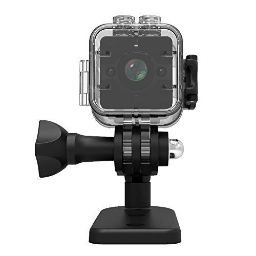 TechCode Mini Kamera HD1080P 155 ° Weitwinkelobjektiv Camcorder Sport DVR Infrarot-Nachtsichtmikrokamera Wasserdichte kleine Kamera