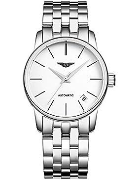 guanqin beliebten Marke Modische Analog Damen Armbanduhr Automatik Mechanische Automatik Wasserdicht Kalender...