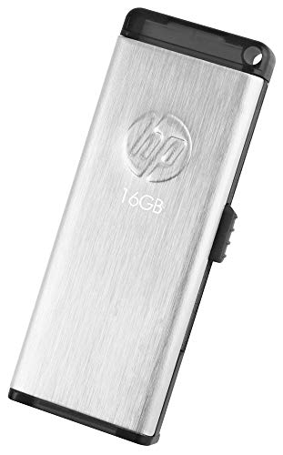 HP V257W USB 2.0 16GB Pen Drive (Silver)
