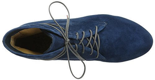 Think! Damen Guad Desert Boots Blau (NAVY/KOMBI 84)