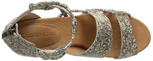 Corso Como Coco Kleid Sandale–Natürliches Multi Naturfarben / Mehrfarbig
