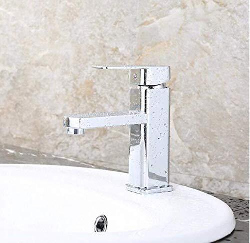 Stark und robustSchöne Form Messing Europäischen Modernen Stil Küche Bad Einlochmontage Heißen Und Kalten Wasserhahn Dusche Hydrant Wasserhahn, Silber, A stark und robustSchöne Form (Wasserhahn Schmiedeeisen Dusche)