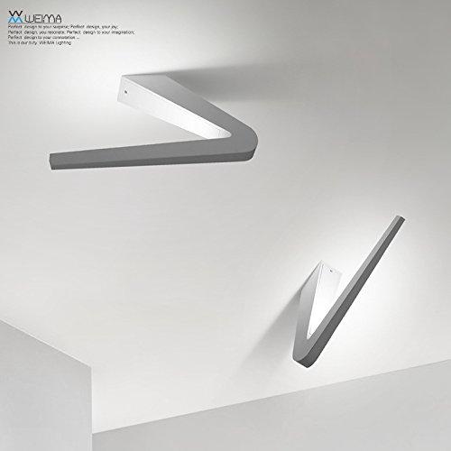 Lampade da parete Lampada da parete a parete applique per la camera da letto,Bar,l'Hotel,soggiorno e (277 Di Cristallo)