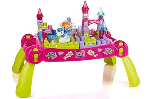 Mega Bloks Erste Builders Lil 'Princess Fairytale Tabelle.
