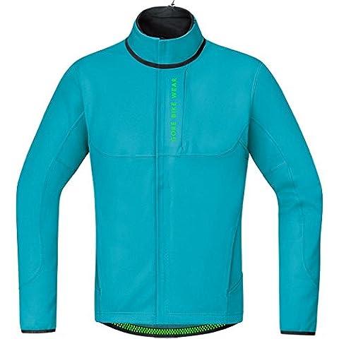GORE BIKE WEAR Herren Thermo Mountainbike-Jacke, GORE WINDSTOPPER Soft Shell,