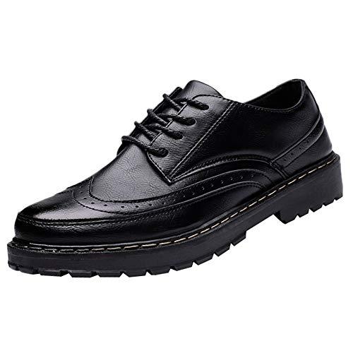 super popular c3c86 a259b Mens Oxford Shoes,koperras Men s Four Seasons Polished British Retro  Outdoor Casual Shoes(US