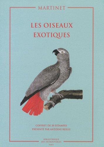 Coffret Les oiseaux exotiques : Coffret de 20 estampes