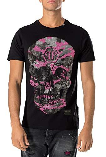 Philipp Plein - Herren T-Shirt 'Bad-S' Schwarz (S) -