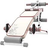 Lxn Réglable Sit Up AB Banc, Banc de Déclin Pliable avec poignée arrière Crunch pour Home Gym AB Exercice, équipement de Conditionnement Physique Multifonctionnel (Pliage + Coups de Pied)