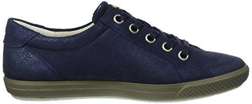 ECCO Summer Zone, Scarpe Stringate Donna Blu(Midnight/Lion 50004)