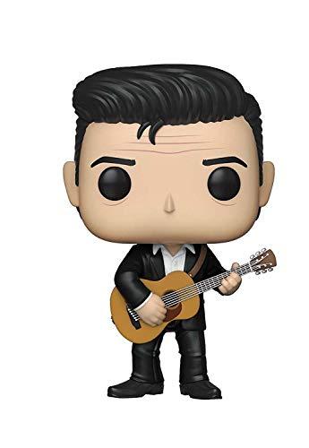 Funko- Pop Vinilo Johnny Cash Figura Coleccionable, Multicolor (39524)