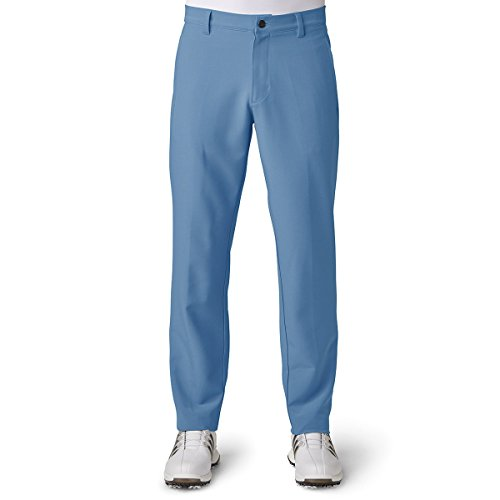 Adidas Golf 2018 Ultimate 365 3-Stripe Trousers Stretch Mens Performance Pant Tapered Leg Ash Blue 38x30