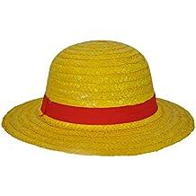 ZXCVBM Anime Japonés Cosplay Sombreros De Paja Sombrero De Una Pieza De  Luffy Sombrero De Dibujos 686597241ff