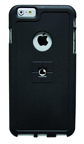 Tetrax 066153 Halterung - Magnetadapter + Back Case - Bundle SMART + XCASE - Apple iPhone 6 Plus - Schwarz -