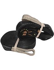 gymadvisor Pro Balance Slackline 15m x 50mm étanche 40kN Corde Sangle à cliquet JIBLINE