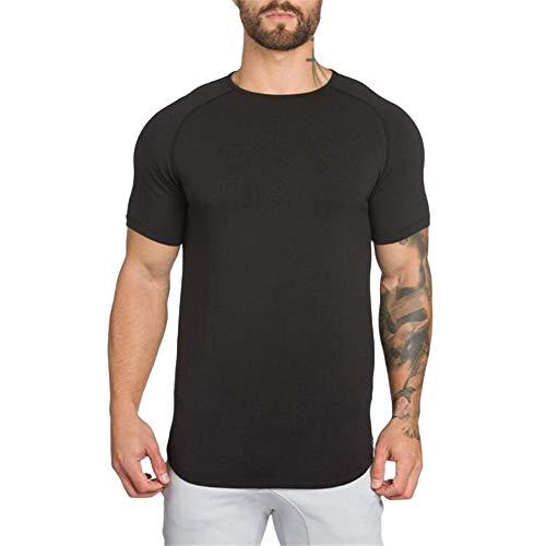 waotier Camisetas De Fitness para Hombre Top Deportivo De Manga Corta para Hombre De Primavera Y Verano