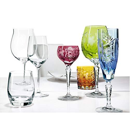 Spiegelau & Nachtmann, Weinglas mit Schliffdekoration, Kristallglas, 230 ml, Traube, 0035949-0,...