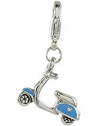 Quiges charmes pour Charm Bracelet en argent plaqué rouleau
