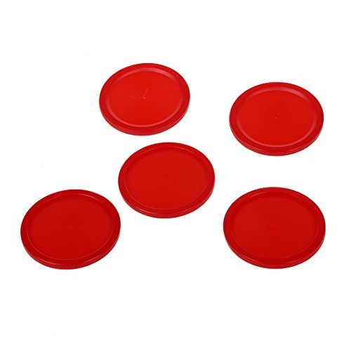 Air Hockey Red Puck (TOOGOO (R) 5 Stueck 2