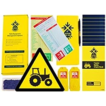 1 tag, 100 seals, 2 Check Books and 1 wallet with pen Safety Kits Good to Go Safety 51349 Forklift Working Platform Weekly Kit