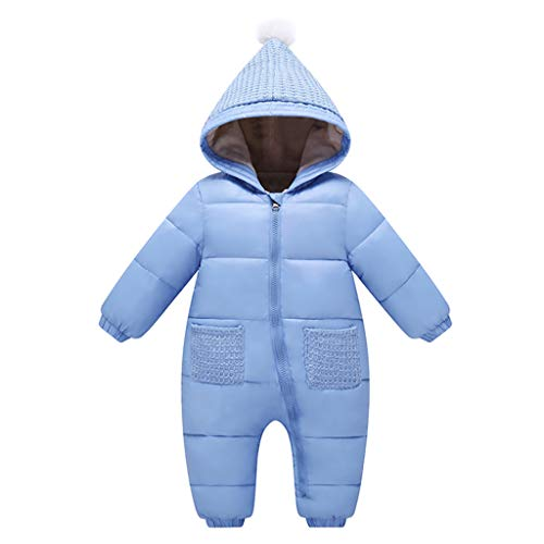Bebé Mono Mameluco Invierno Traje Nieve Espesar peleles