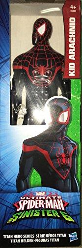 personaggio KID ARACHNID da 30cm ultimate spiderman vs sinister 6 titan hero hasbro b5754