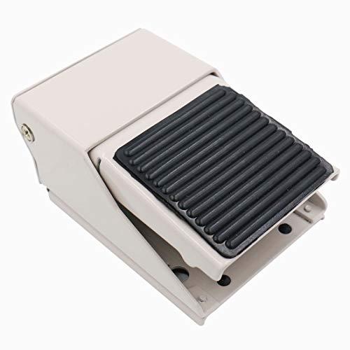 heschen Pneumatische Fuß Druck Control Ventil Schalter Momentary fv-3201/10,2cm PT 12mm Gewinde 3Way 2Position Gummi Nonslip (Zwei Position Momentary Schalter)