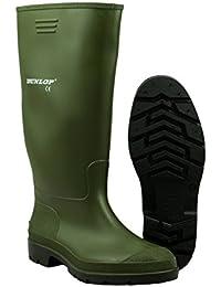 Dunlop Mens Pricemastor Welly Boots Self Lines PVC Slip On Fastening Footwear