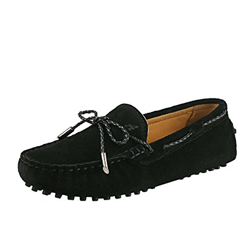 Shenduo Classic, Mocassins femme daim - Loafers...