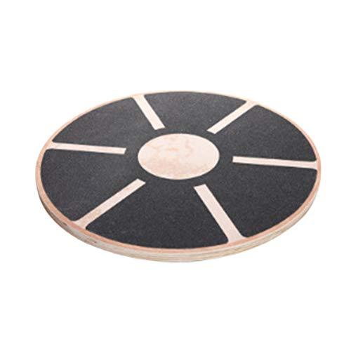 SUPVOX Balance board in Legno Pedana Equilibrio riabilitazione Tavola di esercizi con una torsione