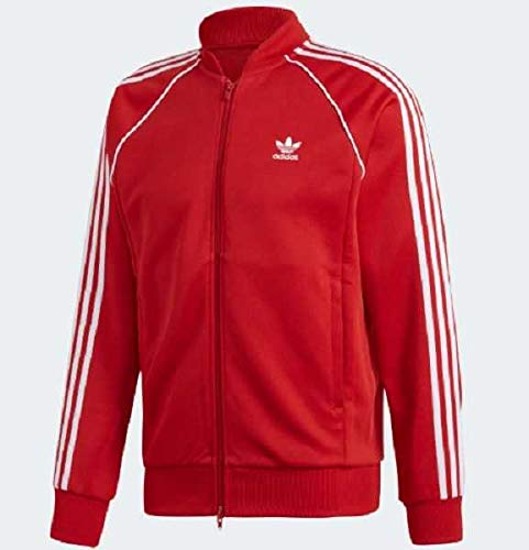 Adidas SST TT Sweat-Shirt Homme, Power Red, FR : M (Taille Fabricant : M)