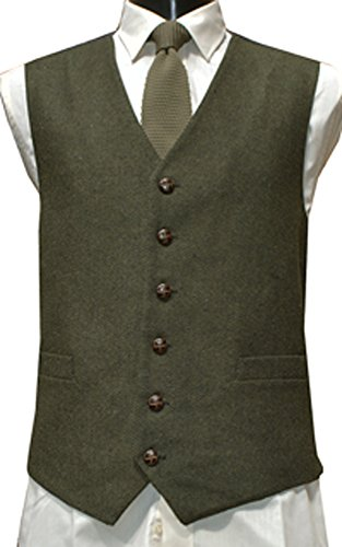 Lloyd Attree & Smith - Gilet -  Homme Vert - Vert