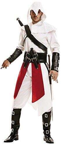 -Kostüm der Mörder für Herren weiß Größe M/L (Assassin ' S Creed Handschuh)