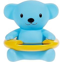 OFKPO Wasserthermometer,Niedlichen Tier Baby Badewanne Thermometer/Schwimm Spielzeug(Blau Bäre)