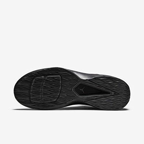 Jordan Rising haut noir / anthracite / noir Chaussures de basket 002 Black