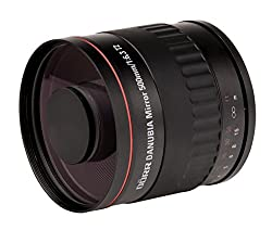 Danubia Telephoto F6.3 500mm T2 Mount Mirror Lens