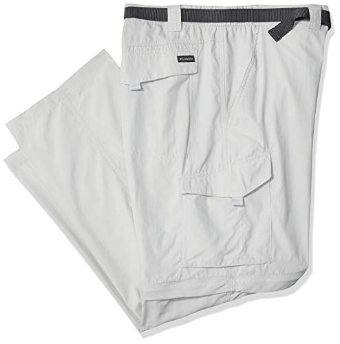 Columbia Silver Ridge Herrenhose, atmungsaktiv, UPF, Herren, Men's Silver Ridge Convertible Pant, Breathable, UPF, cool Grey, 54x34 Cool Convertible Pant