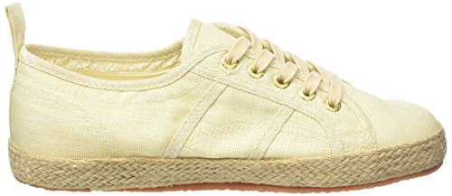 Superga Damen 2750-Linenropew Sneaker Brown (Ecru)