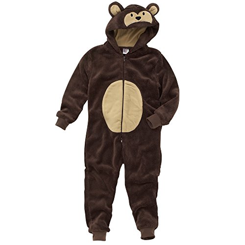 Animal-Crazy-Boys-Supersoft-Fleece-Monkey-Onesie-Jumpsuit-Playsuit