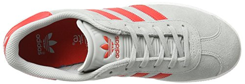 adidas Gazelle J, Sneaker Unisex – bambini Grau (Clear Onix)
